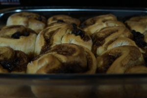 Cinnamon Rolls (without icing)